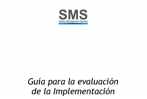Documento ANAC para implantación de sistema SMS, Safety Management System 1