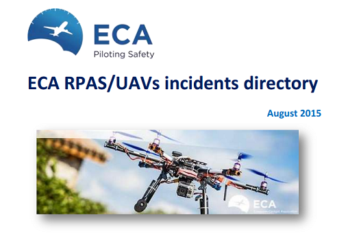 eca rpas-uavs incidents directory
