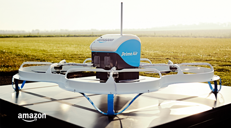Primera entrega de Amazon Prime Air